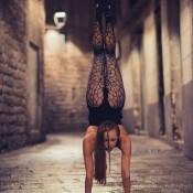 Contortionistas burlesques barcelona