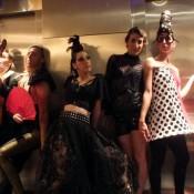 Vestuarios para espectáculo