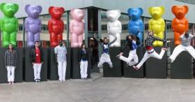 Danseurs pour animation