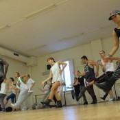Ian masterclass Lady Gaga's dancers