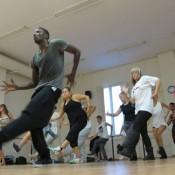 BornThisWayTour dancers Barcelona