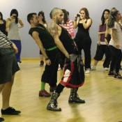 Cours avec Mike Silas danseur Lady Gaga