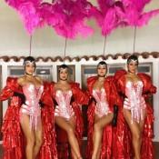 Cabaret gogo dancers