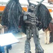 Estatua humana - La Gárgola