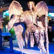 Estatua Humana ángel barcelona