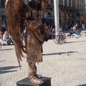 Estatua Humana La Ramblas