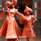Estatua Humana barcelona