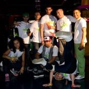 Grupo de bailarines