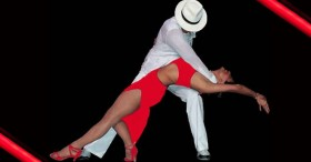 Salsa dance show performance Barcelona