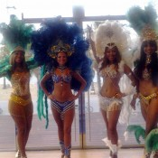 Show Brasil bailarinas de samba