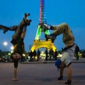 Rollerdance performance
