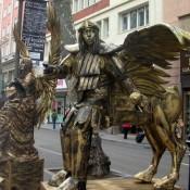 Estatua Humana Centauro