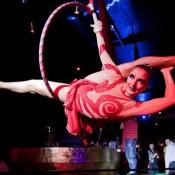 Danse aérienne performance Barcelone