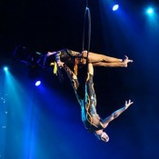 Show aerial dance Barcelona