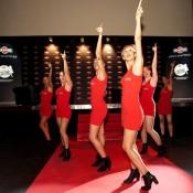 Bdance dancers show Martini