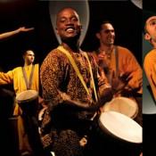 Percusión y danza africana