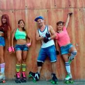 Animación rollerdancers para eventos