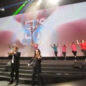 Flashmob show corporate