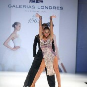 Dance for fashion parade