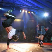 Breakdance hip-hop bailarines