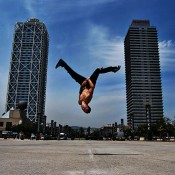 Breakdance performance Barcelona