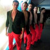 Danseurs glamour événements