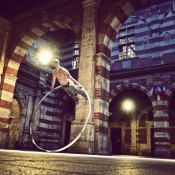 Show cyr wheel for events