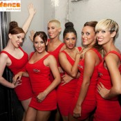 B-Dance girls Martini Barcelone