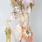 Burlesque rococo espectáculo