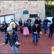 Grease dance class for Bachelorette Sitges