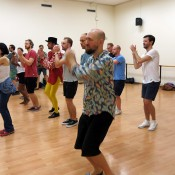 Salsa class Barcelona stag event
