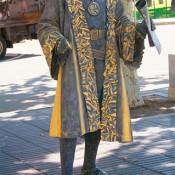 Estatua humana Colón