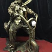 Living Statue - Biker