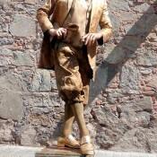 Estatua-humana-S-Mensajero