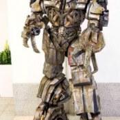Living Statue Megatron