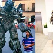 Human Statue AA-Megatron
