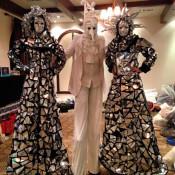 Estatuas Carnaval Venice