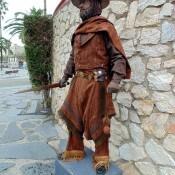 Estatua humana Gaucho