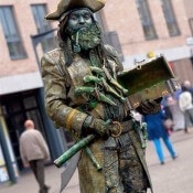 Statue vivante Pirate2