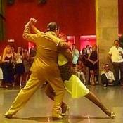 Pareja tango bailarines