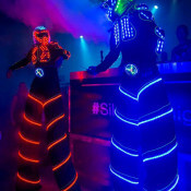 stilts leds for events