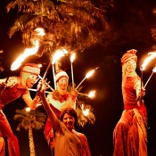 Bdance - fire jugglers