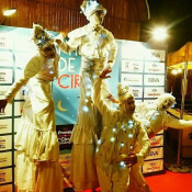 stilts for events barcelona
