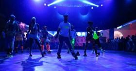 Roller skate baillarins para esdeveniments