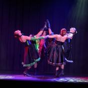 Bdance show cabaret cancan para eventos