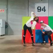 Rollerskaters para eventos