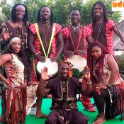 African dancers for events