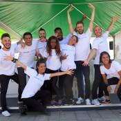 Bailarines flashmob philipps