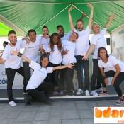 Bailarines flashmob bdance