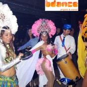 Spectacle de samba, carnaval Barcelone